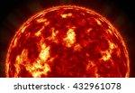 sun. global warming 3d... | Shutterstock . vector #432961078