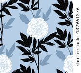 vector seamless pattern with... | Shutterstock .eps vector #432961276