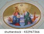 church  italy   june 3  2014 ... | Shutterstock . vector #432967366
