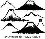 mountain and volcano mountain....