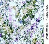 ink imprints meadow grass....   Shutterstock . vector #433024522