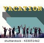 business people achievement... | Shutterstock . vector #433051462