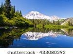 Mt Rainier Reflection From...