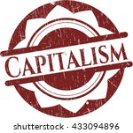 capitalism rubber grunge... | Shutterstock .eps vector #433094896