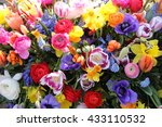 Spring Flowers In A...