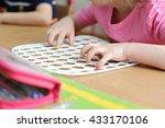 children s speech therapist... | Shutterstock . vector #433170106