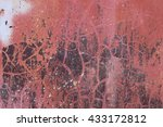 rusted background with... | Shutterstock . vector #433172812
