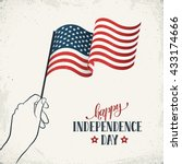 happy independence day. women's ... | Shutterstock .eps vector #433174666
