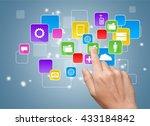 apps. | Shutterstock . vector #433184842