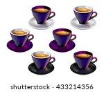 set of vector illustrations of...   Shutterstock .eps vector #433214356