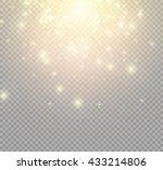 lights on transparent... | Shutterstock .eps vector #433214806