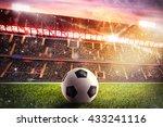 soccerball at the stadium | Shutterstock . vector #433241116