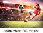 football game at the stadium | Shutterstock . vector #433241122