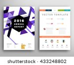 abstract background. geometric... | Shutterstock .eps vector #433248802