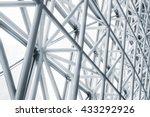 architecture detail modern... | Shutterstock . vector #433292926