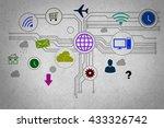 user interface | Shutterstock . vector #433326742
