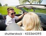 leisure  road trip  dating ... | Shutterstock . vector #433364395
