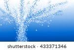 sparkling water | Shutterstock . vector #433371346