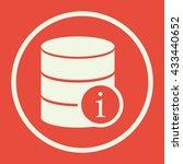 vector illustration of database ... | Shutterstock .eps vector #433440652