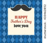 Happy Father's Day Illustratio...