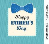 happy father's day... | Shutterstock .eps vector #433462882