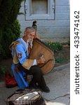 bandura  a street musician ... | Shutterstock . vector #433474162