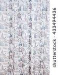 fabric samples  | Shutterstock . vector #433494436