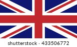 united kingdom flag | Shutterstock .eps vector #433506772