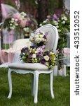 beautiful wedding bouquet of... | Shutterstock . vector #433512052