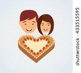 person party celebration design  | Shutterstock .eps vector #433515595