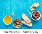 Mediterranean Snacks Set....