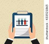 medical healthcare design    Shutterstock .eps vector #433521865