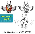 dot to dot children game.... | Shutterstock .eps vector #433535722