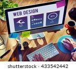 web design mobile interface...