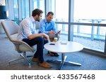 two business entrepreneurs... | Shutterstock . vector #433567468