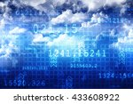 cloud computing devices | Shutterstock . vector #433608922