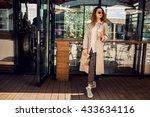 woman | Shutterstock . vector #433634116