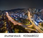 aerial view of sri hartamas ... | Shutterstock . vector #433668022