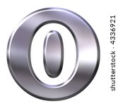 3d silver framed number 0   Shutterstock . vector #4336921
