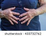 hands of an old woman | Shutterstock . vector #433732762