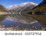 Beautiful Reflection In Lake...