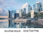 View Of Central Singapore....