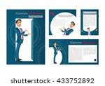 businessman. cartoon character. ...   Shutterstock .eps vector #433752892