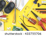 electrical and electronic... | Shutterstock . vector #433755706