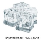 abstract background with frozen ... | Shutterstock . vector #43375645