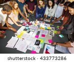 Small photo of Student Classmate Friends Understanding Study Concept
