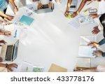 student classmate friends... | Shutterstock . vector #433778176