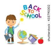 back to school design.    Shutterstock . vector #433790302