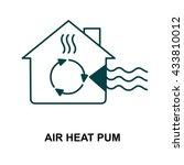 air heat pump | Shutterstock .eps vector #433810012