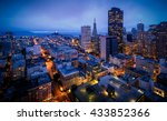 aerial view of san francisco...   Shutterstock . vector #433852366